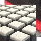 K18 3Dブロック ベッドマットレス