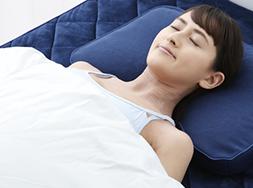 肩が上がらず、自然な寝姿勢をサポート