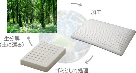 環境にもやさしいエコ素材